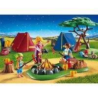 Playmobil - Vacaciones Campamento con Fogata - 6888