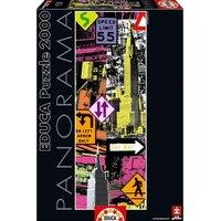 Educa Borrás - Puzzle 2000 Piezas – Nueva York Pop Art