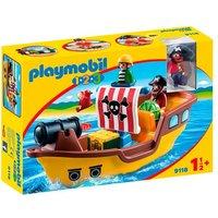 Playmobil 1.2.3 - Barco Pirata - 9118