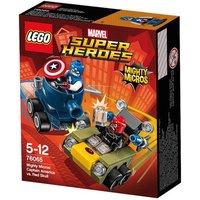 LEGO Súper Héroes - Mighty Micros: Capitán América vs Cráneo Rojo - 76065
