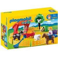 Playmobil - 1.2.3 Recinto de Mascotas - 6963