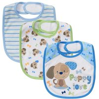Babies R Us - Pack 3 Baberos Perrito