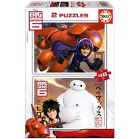 Educa Borras - Big Hero 6 - Puzzle 2x48 Piezas