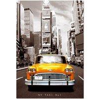 Educa Borrás - Puzzle 1000 Piezas - Taxi no.1 Nueva York