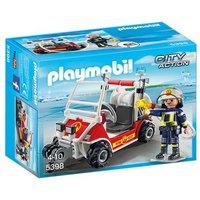 Playmobil - City Life Coche de Bomberos - 5398