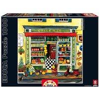 Educa Borrás - Puzzle 1000 piezas - Tienda de Comestibles, Suzanne Etienne