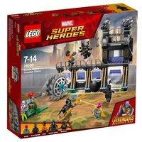 LEGO Súper héroes - Ataque de la Desgranadora de Corvus Glaive - 76103