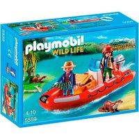 Playmobil - Bote Hinchable con Exploradores - 5559