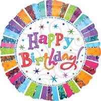 Globo Happy Birthday 45 cm