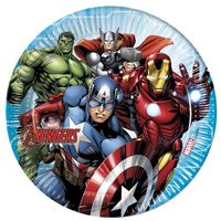 Los Vengadores - Pack 8 Platos