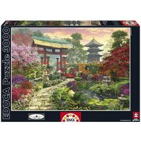 Educa Borrás - Puzzle 3000 Piezas - Jardín Japonés