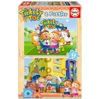Educa Borras - Tickety Toc - Puzzle 2x48 Piezas