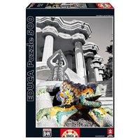 Educa Borrás - Puzzle 500 piezas - Parque Güell, Barcelona