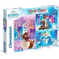 Frozen - Puzzle Infantil 3x48 Piezas Aventuras de Olaf
