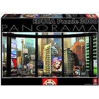 Educa Borrás - Puzzle 3000 Piezas - Times Square Desde Mi Ventana