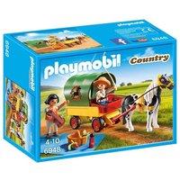 Playmobil - Vida en el Campo Picnic con Pony y Coche - 6948