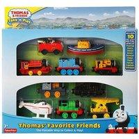 Fisher Price - Thomas y sus Amigos - Pack 10 Locomotoras