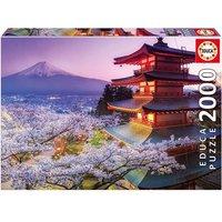 Educa Borrás - Monte Fuji, Japón - Puzzle 2000 Piezas