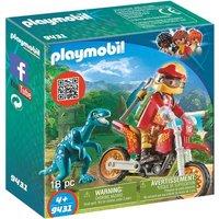Playmobil - Moto con Velociraptor - 9431