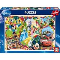 Educa Borrás - Puzzle 1000 Piezas - Mundos Disney