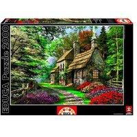 Educa Borrás - Puzzle 2000 Piezas - La casa de las flores