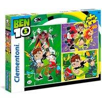 Ben 10 - Puzzle Infantil 3x48 Piezas