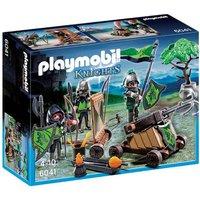 Playmobil - Playset Figuras del Lobo y Catapulta - 6041