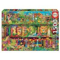 Educa Borras - El Jardín Secreto- Puzzle 1500 Piezas