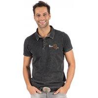 Hangowear Trachtenshirt mit Aufdruck und Stickerei