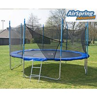 Airspring Advanced 14ft Trampoline Package