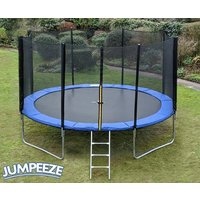 Jumpeeze Blue 14ft trampoline package