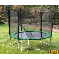 Kanga Hi-Power Green 10ft trampoline package