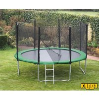 Kanga Hi-Power Green 16ft trampoline package