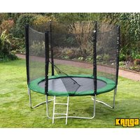 Kanga Hi-Power Green 8ft trampoline package