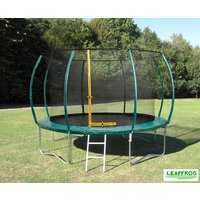 Click to view product details and reviews for Leapfrog 10ft Green Trampoline Package.