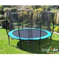 SmartAir Turquoise 12ft trampoline package