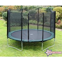 Click to view product details and reviews for Spring Star Green 14ft Trampoline Package.