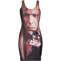 Women's Crystal Ball Bowie Labyrinth Body-Con Dress - Dress Gifts