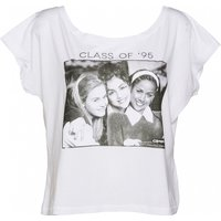 Women's Clueless Movie Cast Oversized Cropped T-Shirt - Movie Gifts