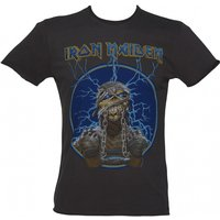 Men's Iron Maiden Mummy Charcoal T-Shirt from Amplified - Iron Maiden Gifts