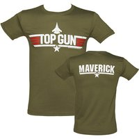 Men's Military Green Top Gun Maverick T-Shirt - Military Gifts