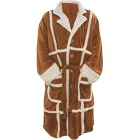 Men's Only Fools and Horses Del Boy Parker Fleece Dressing Gown - Only Fools And Horses Gifts
