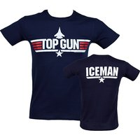 Men's Top Gun Iceman T-Shirt - Clothes Gifts