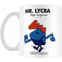 Mr Lycra Mr Men Mug - Men Gifts