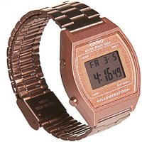 Rose Gold Retro Casio Illuminator Watch B640WC-5AEF from Casio - Truffleshuffle Gifts