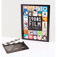 1980's Film Alphabet 11'' x 14'' Art Print - Film Gifts