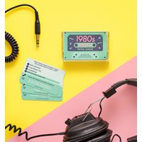 1980s Music Trivia Cassette Quiz Game - Music Gifts