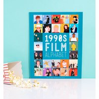 1990's Film Alphabet 11'' x 14'' Art Print - Film Gifts