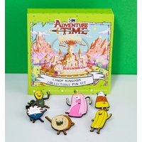 Adventure Time Candy Kingdom Enamel Pin Badge Set - Candy Gifts