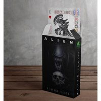 Alien Playing Cards - Playing Cards Gifts